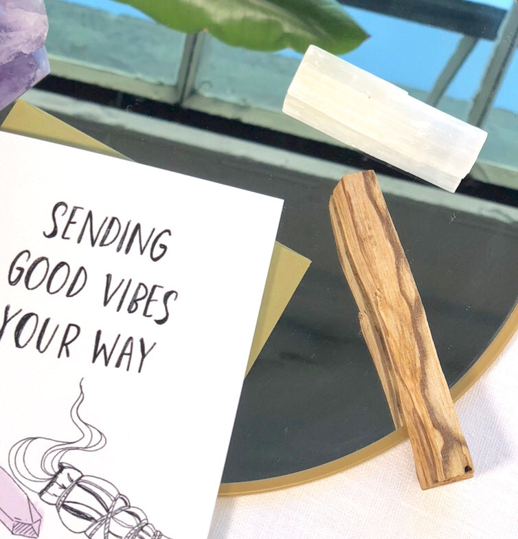 Bundle of 4 Palo Santo Sticks