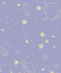 Starry Moon Soft Pink+Light Blue - Pack of 6