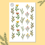 Flower Pickings Sticker Sheet