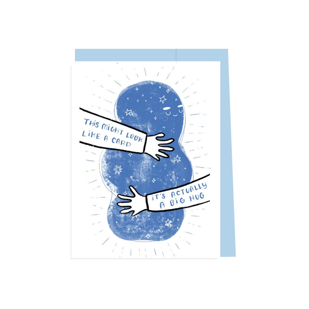 This Might Look Like A Card It's Actually A Big Hug, Hug card, Need a Hug, Friend Card, Sympathy, It's Gonna Be Alright