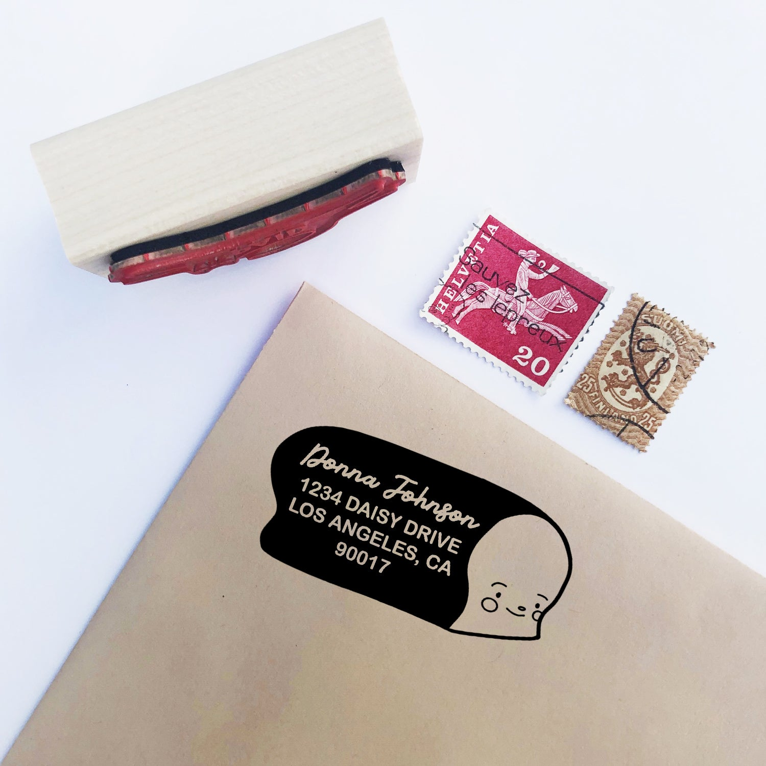 BREAD- Personalized Address Stamp