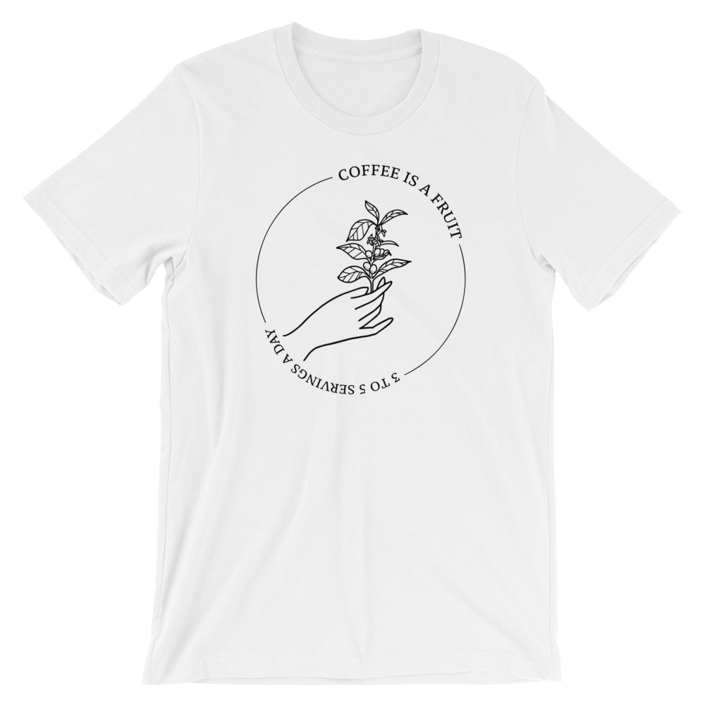 Coffee Is A Fruit Tee Shirt