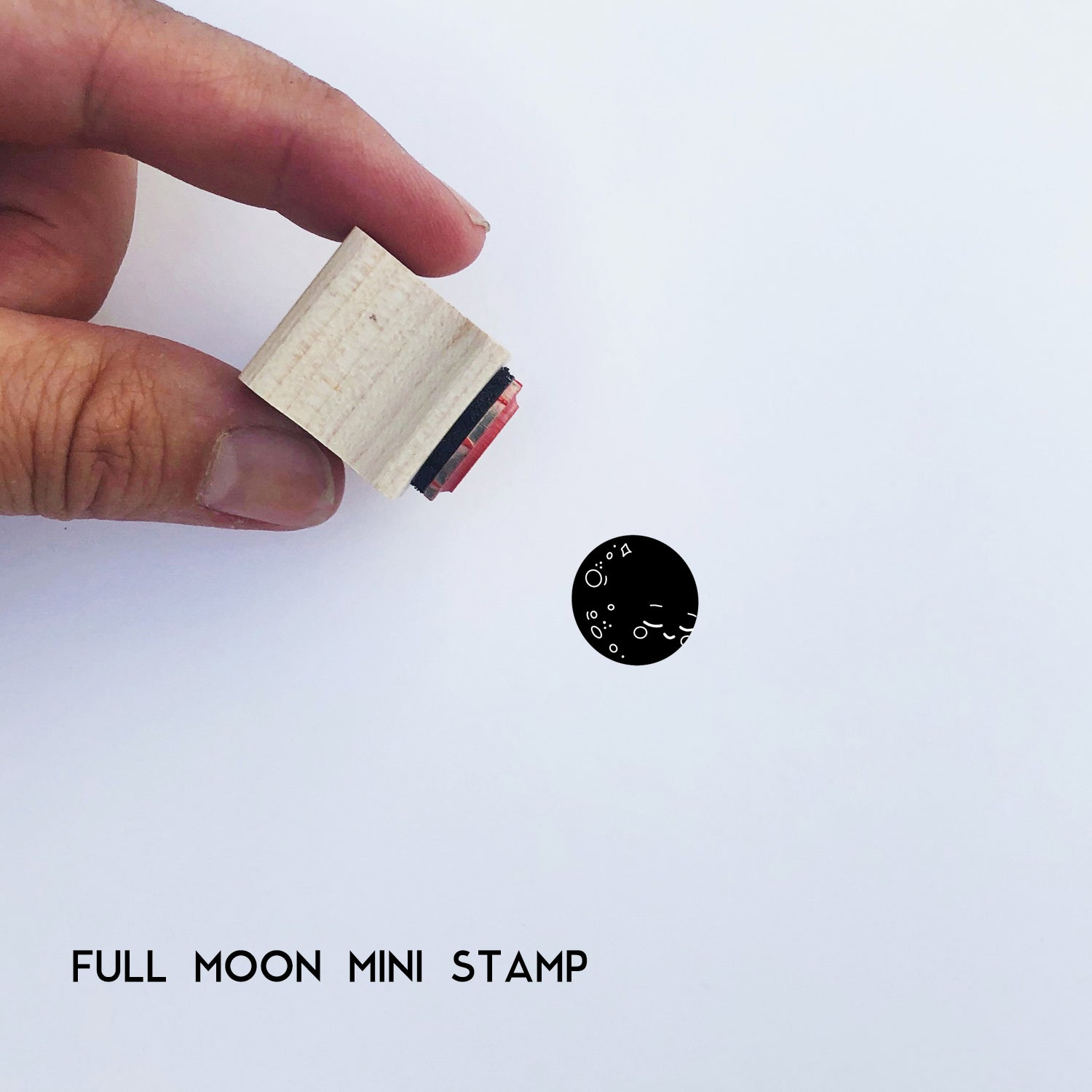 Full Moon Mini Stamp