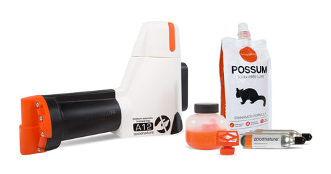 Goodnature A12 possum trap kit (incl. shipping)