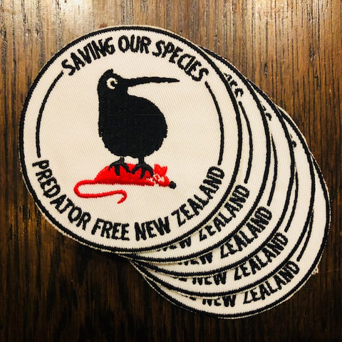 5 pack of Saving Our Species badges (incl. shipping)