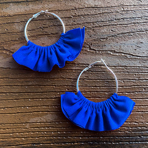 Royal Blue Fiesta Earrings