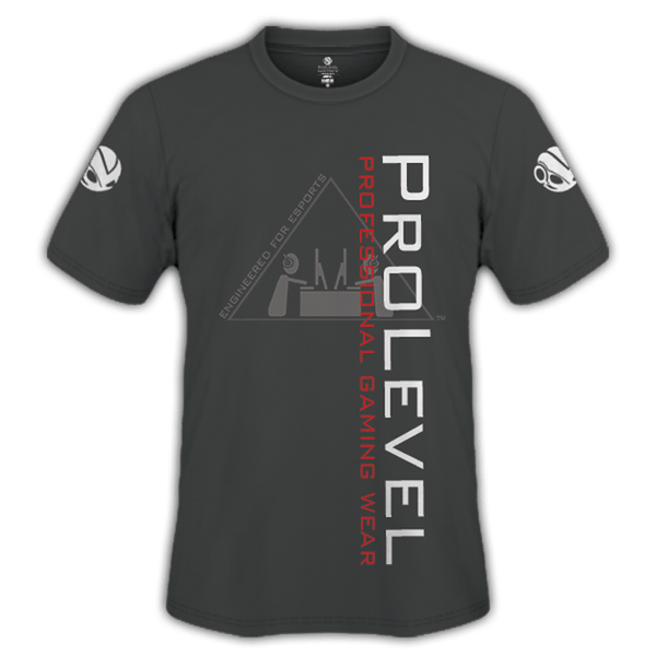 Esports Prolevel Fade Grey Training Shirt - Prolevel | Professional Gaming Wear®