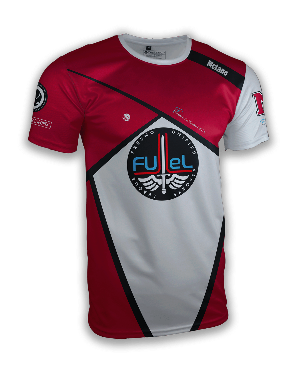 FUeL McLane Esports Prolevel® Competitor Jersey - Prolevel | Professional Gaming Wear®