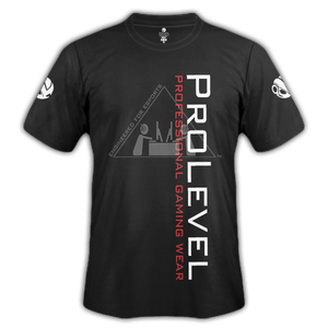 Esports Prolevel Fade Black Training Shirt - Prolevel | Professional Gaming Wear®