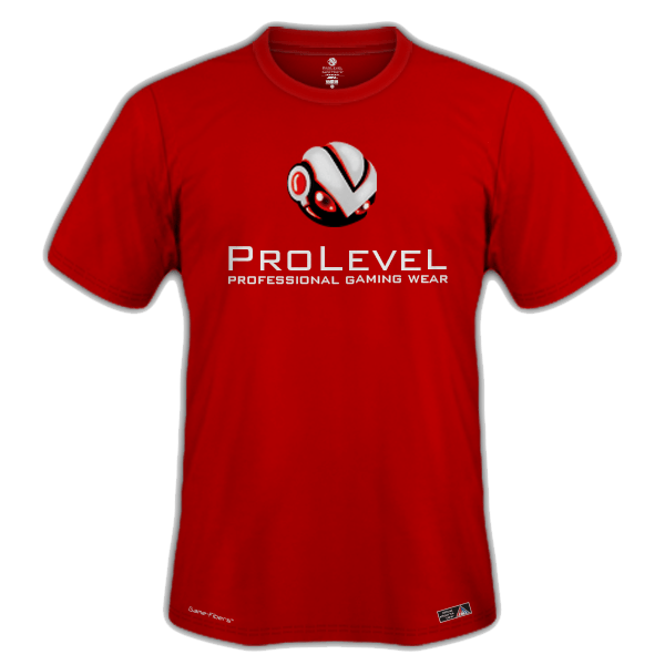 Esports Prolevel Prime Red Training Shirt - Prolevel | Professional Gaming Wear®