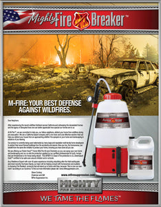 Home Wild Fire Defense Kit