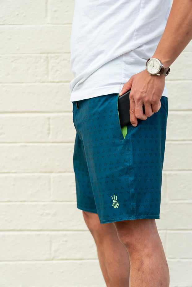 Session Boardshort – A-Frame Blue