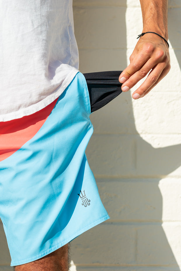 Session Boardshorts – Bottom Turn Blue