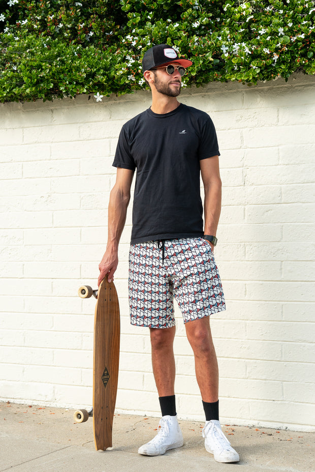 Session Boardshorts – Spindrift White
