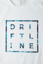 Caged Drift White Tee