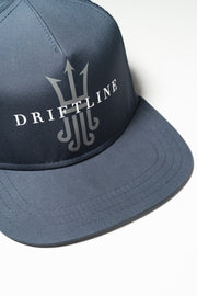 navy nylon surf hat driftline