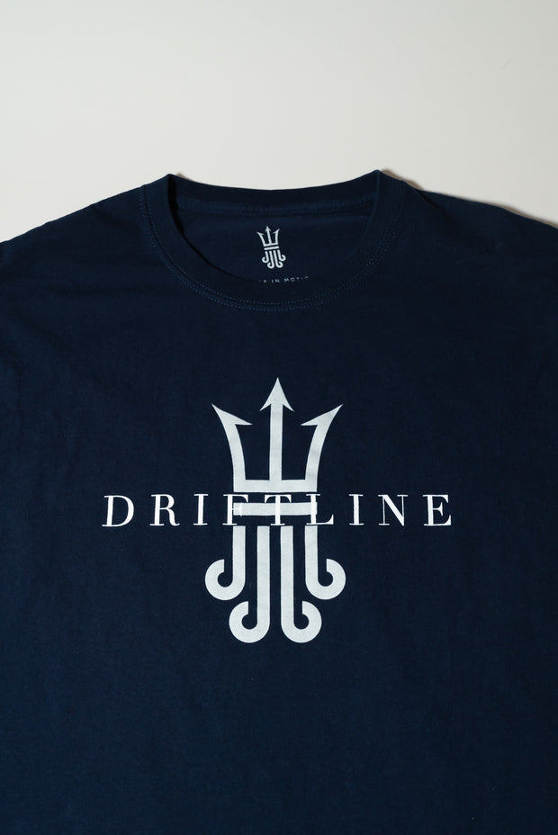 navy long sleeve shirt driftline