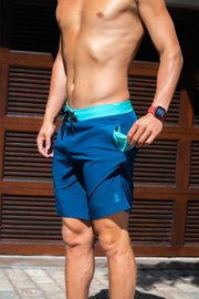 Session Men's Boardshorts | Big Sur Blue