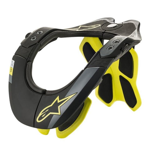 Alpinestars Bionic Neck Support Tech-2 Black/Fluoro Yellow