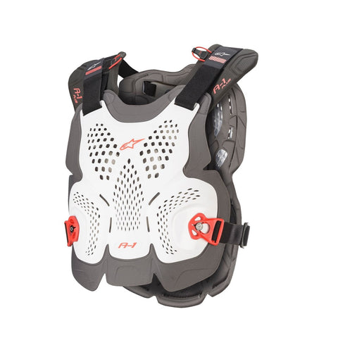 Alpinestars A-1 Plus Chest Protector White/Anthracite/Red