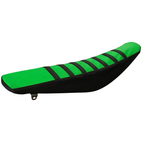 SEAT COVER - GREEN/BLACK KAWASAKI KXF250 09-12 KXF450 09-11