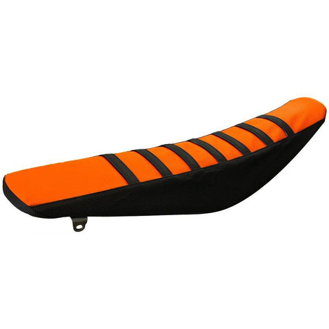 SEAT COVER - ORANGE/BLACK KTM SX/SXF/EXC/MXC/XC RFR FITMENT