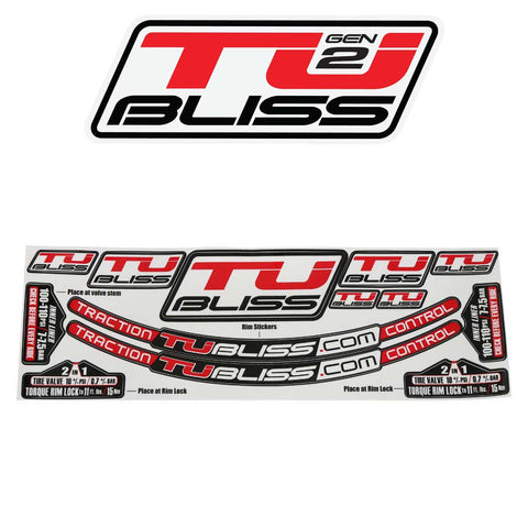 TUbliss Sticker Kit