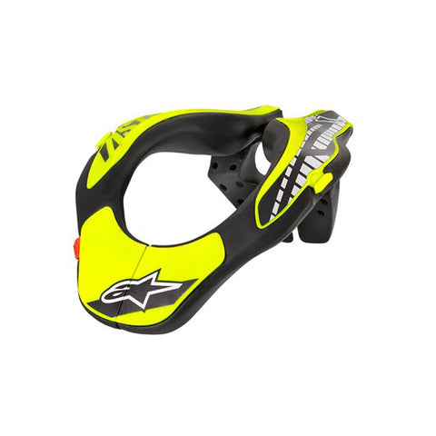 Alpinestars Youth Neck Support Yellow Fluoro
