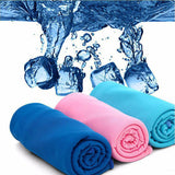 1pc Colorful Portable Quick-drying Microfibre Towel Outdoor Sports Camping Travel Accessories Towel V2738