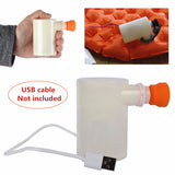 Piratical Mini USB Air Pump 53x53x80mm. Light Weight. Inflate and Deflate.