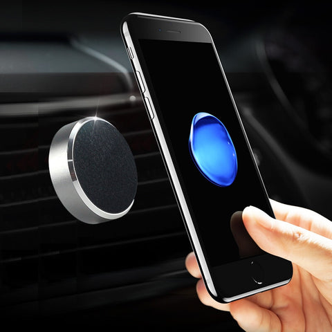 Free-Top Quality, Magnetic Phone Holder. Any Phone, any Location. Kitchen, Car, Office, Desk, Anywhere you would like to mount your phone.