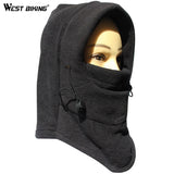WEST BIKING Cycling Thermal Hats Skiing Camping Hiking Cap Bicycle Bike Face Mask Breathable Windproof Cold Proof Winter Hats