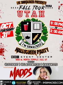 I'm Shmacked - Utah Halloween Party Ticket