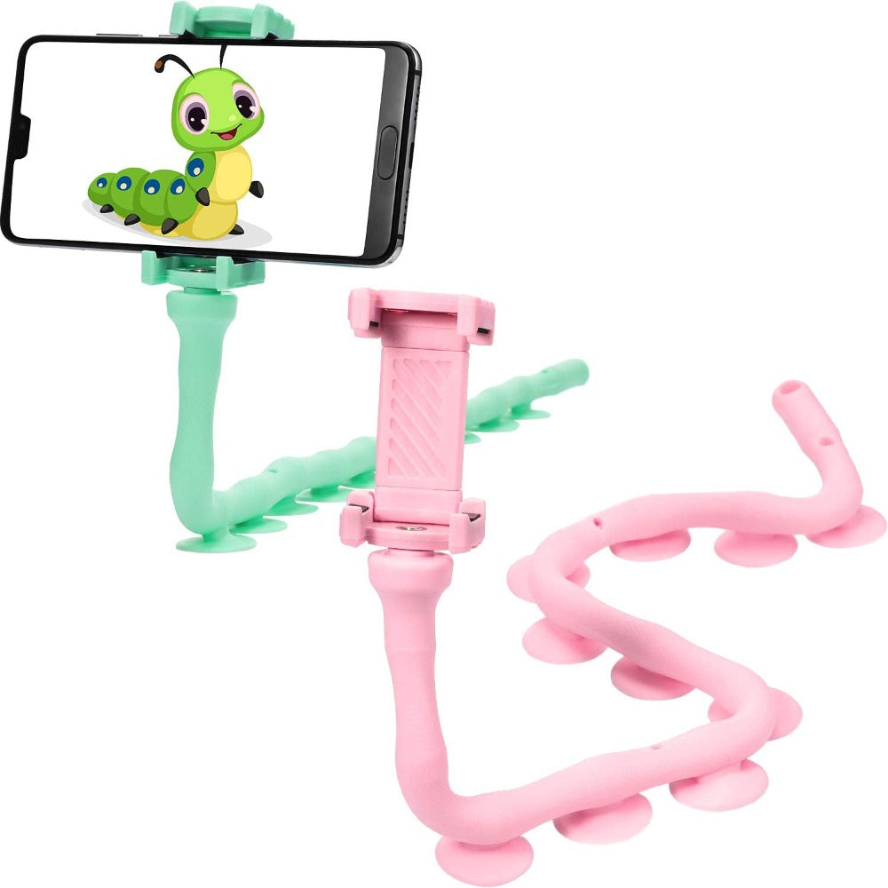 Flexible Twistable Lazy Worm Phone Holder