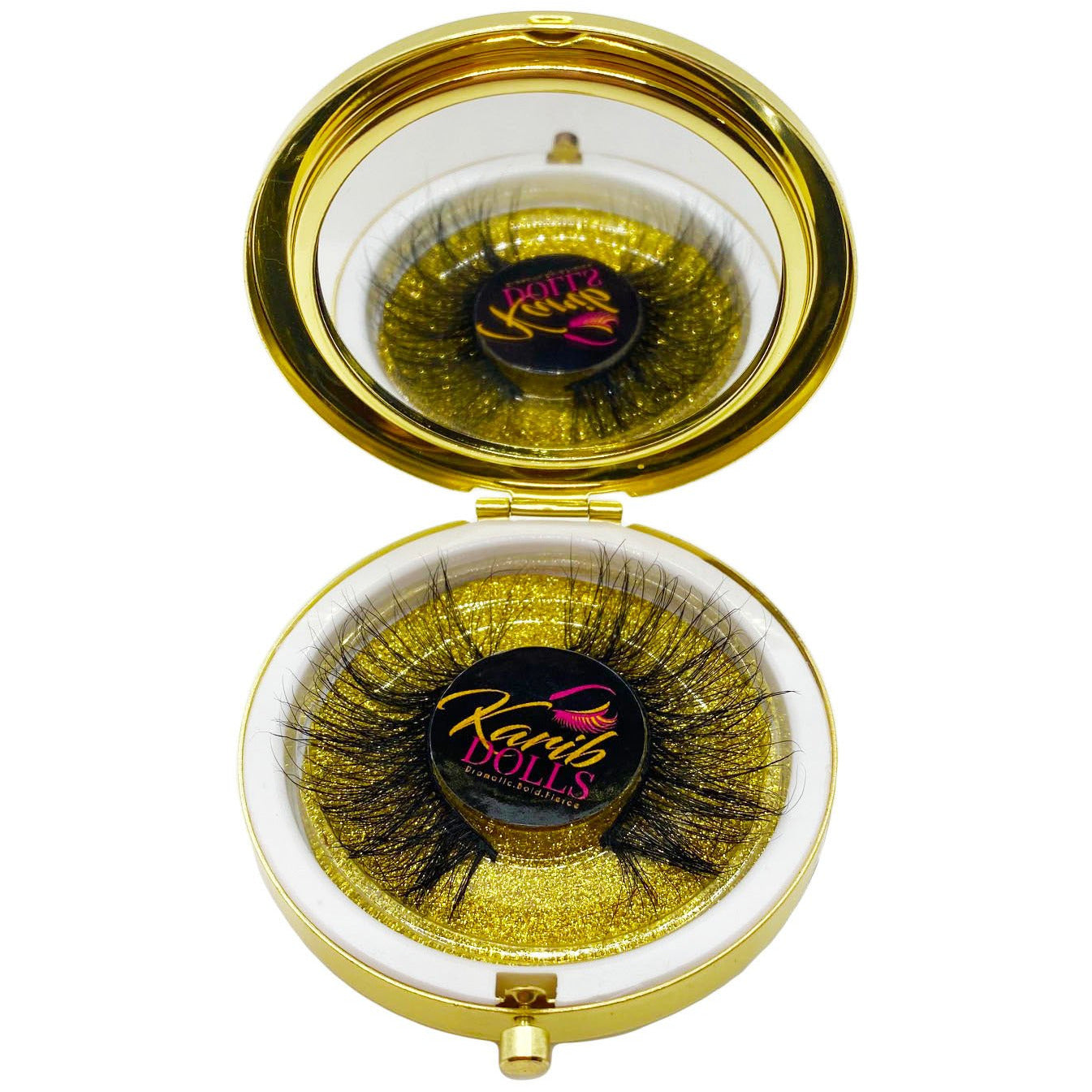 Karib Dolls Real 3D Mink Lashes (Stormy)