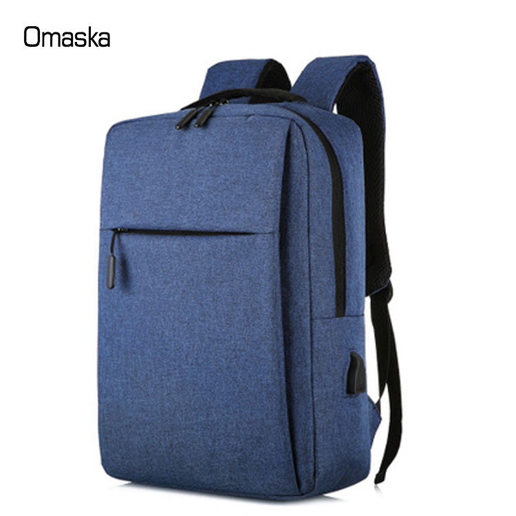 Slim USB Charging Travel Water Resistant Backpack