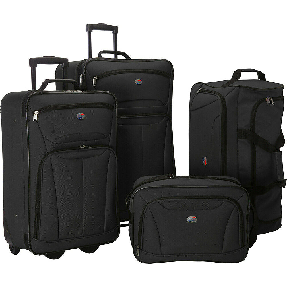 Fieldbrook II 4-Piece Nested Luggage Luggage Set