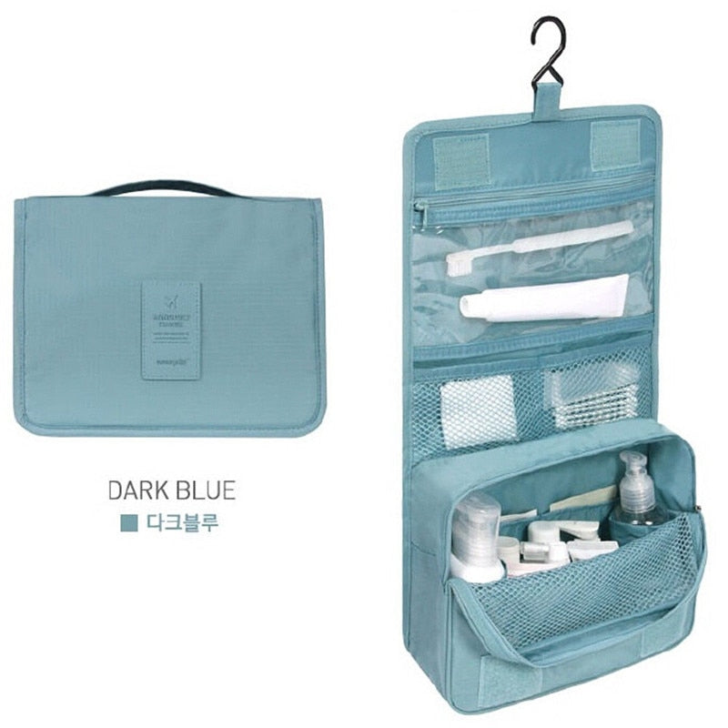 Hanging Cosmetic Toiletry Kit Bag