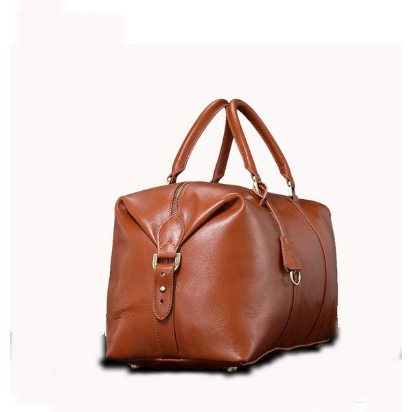 Genuine Leather Men's Duffel Bag