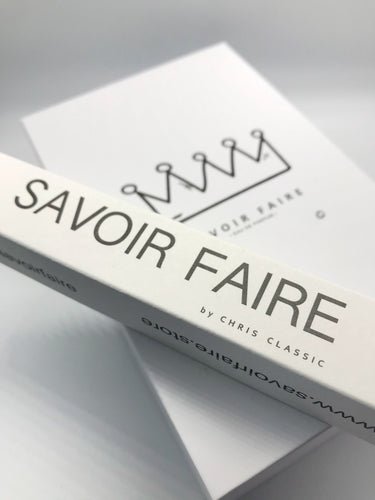 Savoir Faire 50ml +1 Free Cigar Clutch