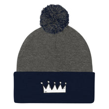 Load image into Gallery viewer, The Crown Beanie (choose color)