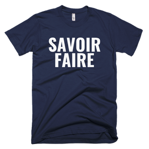 SAVOIR FAIRE T-Shirt (choose color)