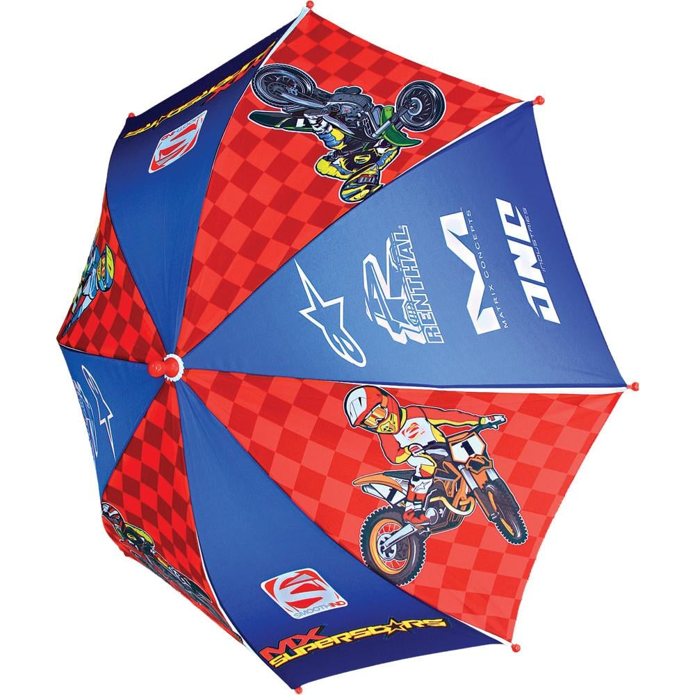 Smooth Industries Youth Umbrella MX Superstars