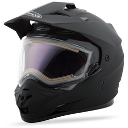 Gm11S Sport Helmet Flat Black w/Electric Shield