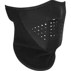Neo-X Face Mask Solid Black W/Fleece Neck