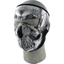 Full Face Mask (Black & White Skull)