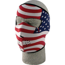 Full Face Mask (Stars & Stripes)