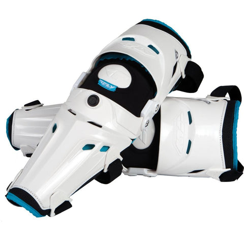 5 Pivot Knee Guard White