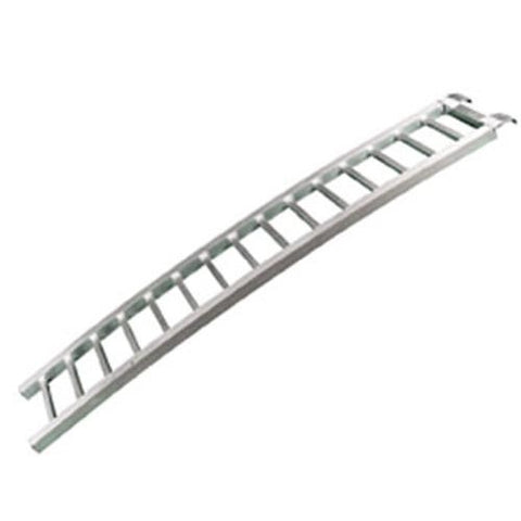 Curved Aluminum Ramp One-Piece