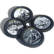 Smooth Industries Drink Coasters Knobby Tire 4 PK